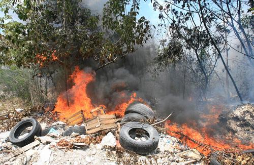 suspendidas las quemas agricolas