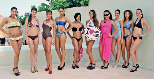 Imagenes De Baño Diario:Pasarela en traje de baño