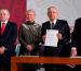 Presentan reforma judicial contra nepotismo; la enviará AMLO