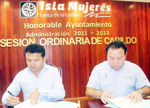 Signan convenio Profepa e Isla Mujeres | .::Diario Imagen ...