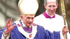 El Papa Benedicto XVI encabezó ayer la misa del Miércoles de Ceniza, en la Basílica de San Pedro.