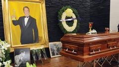 La familia artística rindió tributo al fallecido actor en el Teatro Jorge Negrete de la Asociación Nacional de Actores (ANDA).