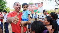 El pueblo está con Parra López y cifran sus esperanzas en él para que ahora si le dé importancia al campo morelense.