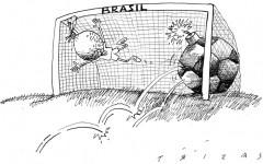 Protestas vs fútbol... | Trizas