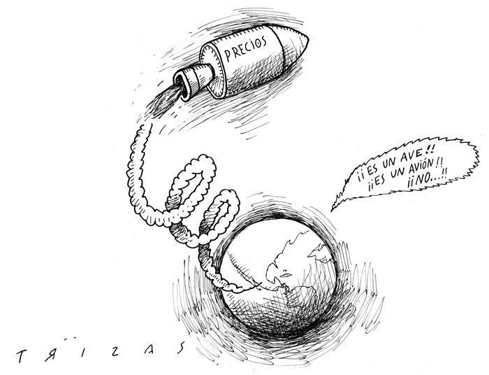 Es la inflación... | Trizas