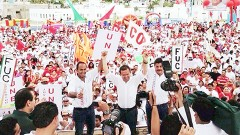 Con Agapito Magaña y Juan Carrillo, este municipio tendrá a dos aliados, para cumplir con cada uno de los compromisos, dijo César Camacho.