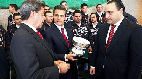 Peña Nieto felicita al equipo Tigres | .::Diario Imagen ...