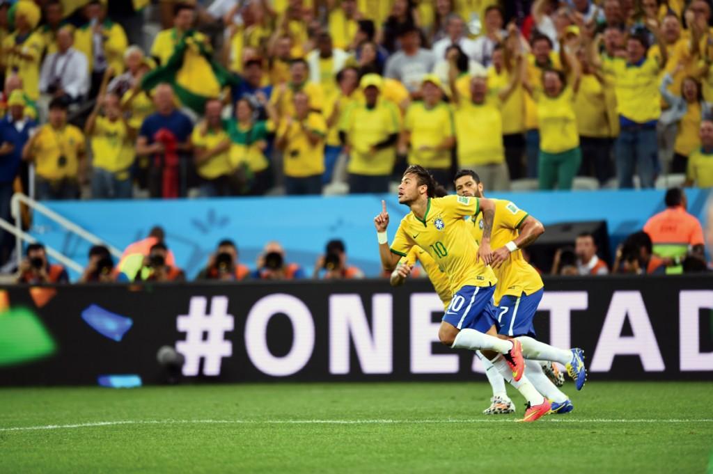 Las ocho selecciones ya están entre los primeros sitios de la Copa del Mundo y de entre ellos surgirá el campeón. En la gráfica, Neymar celebra un gol anotado a Croacia. (Foto: Getty Images)