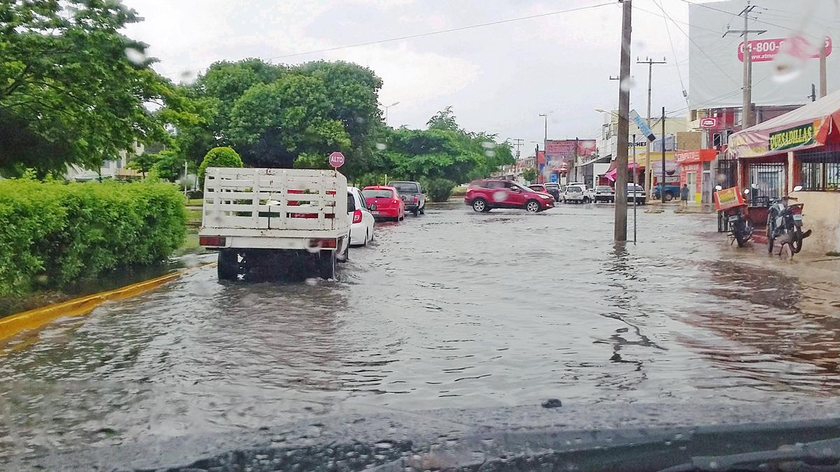 Las zonas más beneficiadas podrían ser el sur del estado, donde las lluvias no llegan a provocar encharcamientos, sino inundaciones severas.