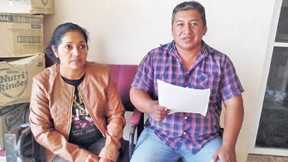 El fraude fue denunciado por Cornelio Palacios Osorio, quien fue víctima de fraude por parte de Herlindo Cerecedo Salazar,